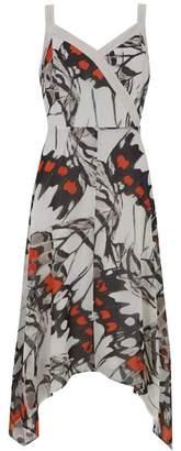 Mint Velvet Arden Print Trapeze Dress