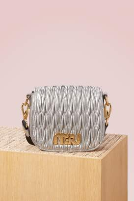 Miu Miu Matelass Leather Bag
