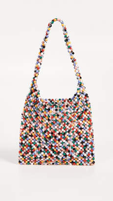 Loeffler Randall Mini Beaded Hobo Bag
