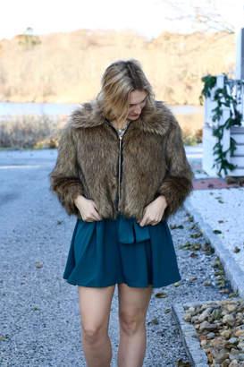 Kensie Faux Fur Coat
