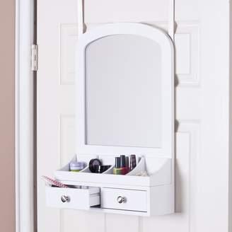Marissa Over-the-Door Jewelry, Makeup Mirror & Accessory Storage