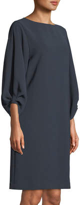 Lafayette 148 New York Wynona Dress in Finesse Crepe