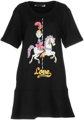 Love Moschino (ラブ モスキーノ) - ラブ モスキーノ ミニワンピース&ドレス