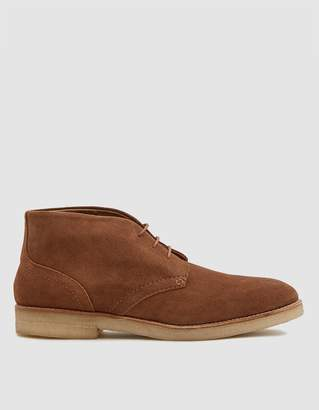Hudson London Hatchard Suede Boot in Tan
