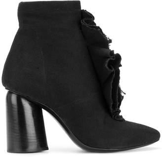 Cinzia Araia ruffle trim boots