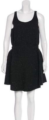 Julien David Silk-Blend Dress
