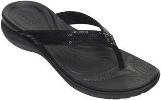 Crocs Flip Sandals - Capri V Sequin