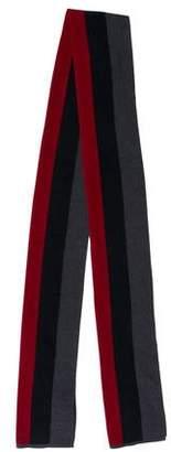 Gucci Web Wool Scarf w/ Tags