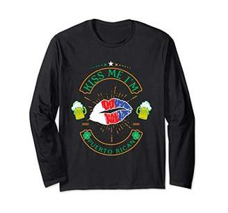 Kiss Me I'm Puerto Rican Shirt St Patricks Day 2018 Outfit