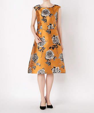 レンタルNO.36 バラ柄ドレス(R0028)