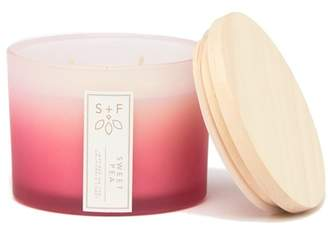 Sweet Pea SAND + FOG Pink Ombre 12oz. Candle