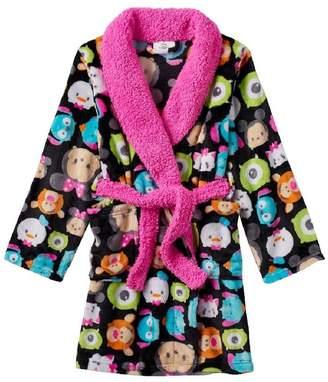 Disney Tsum Tsum Girls Bath Robe Soft Terry Bathrobe