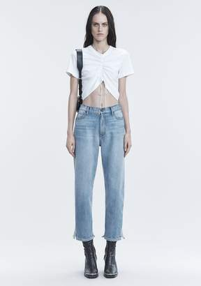 Alexander Wang GATHERED FRONT TSHIRT TOP