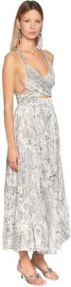 Etro Printed Silk Double Georgette Dress