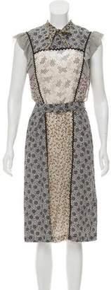 Bottega Veneta Printed Silk Dress