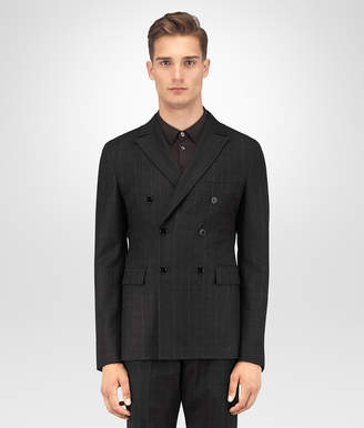 Bottega Veneta NERO WOOL FLANNEL JACKET