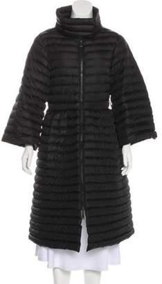 Emporio Armani Puffy Long Coat Black Puffy Long Coat