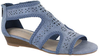 Easy Street Shoes Womens Thelma Wedge Sandals