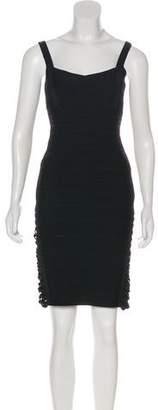 Herve Leger Sleeveless Mini Dress