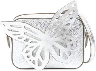 Sophia Webster Flossy Butterfly Metallic Leather Bag
