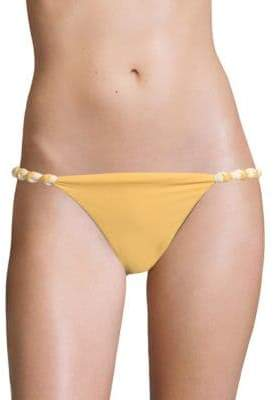 Vix Paula Hermanny Solid Double Face Knot Bikini Bottom