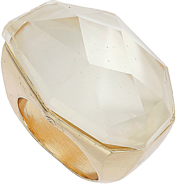 Topshop Domed Stone Ring