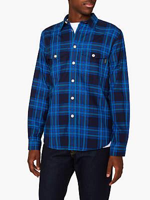 aa17ba7b044 at John Lewis and Partners · Paul Smith Double Pocket Check Long Sleeve  Shirt