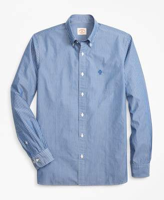 Brooks Brothers Striped Broadcloth Sport Shirt