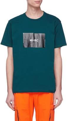 M+RC NOIR Box logo print T-shirt