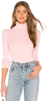Amo Puff Sleeve Turtleneck