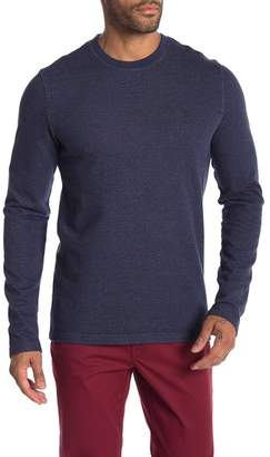 Original Penguin Jaspe Terry Knit Crew Neck Pullover