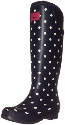 Joules Women's Neolawelly Rain Boot, White