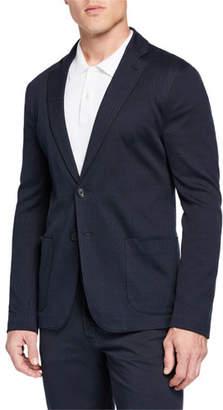 Emporio Armani Men's Geo Jersey Soft Jacket