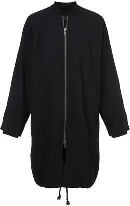 Ann Demeulemeester long bomber jacket