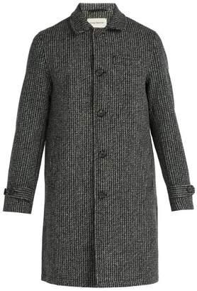 Oliver Spencer Beaumont Wool Coat - Mens - Dark Grey