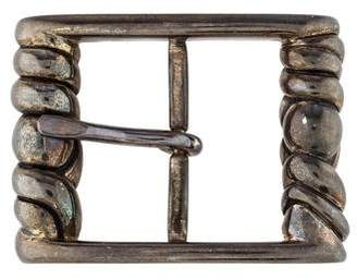 Kieselstein-Cord Sterling Silver Belt Buckle