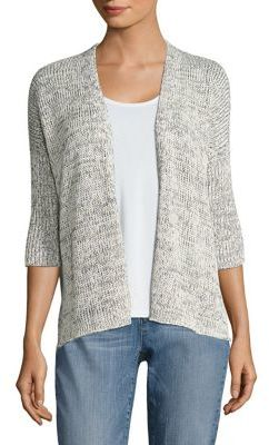 Eileen Fisher Boxy Knit Cardigan $298 thestylecure.com