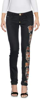 Philipp Plein Denim pants - Item 42677947TO