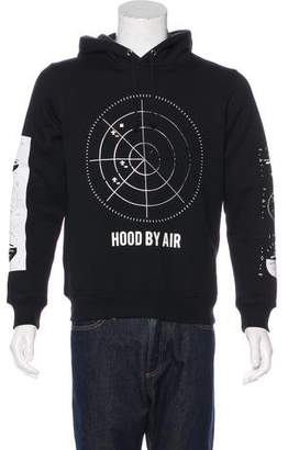Hood by Air Graphic Hooded Sweatshirt