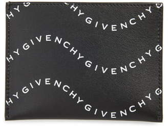 Givenchy Logo Leather Cardholder
