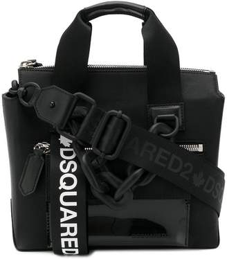 DSQUARED2 small buckled tote bag