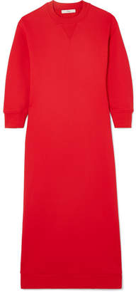 Tibi Cutout French Terry Dress - Red