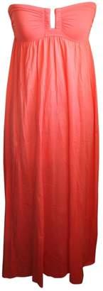 Eres Pink Cotton - elasthane Dress for Women