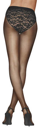 Donna Karan Lace Control-Top Tights