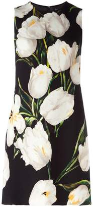 Dolce & Gabbana tulip print dress