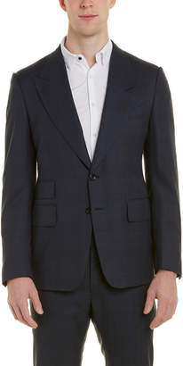 Tom Ford Shelton 2Pc Wool Suit With Flat Pant