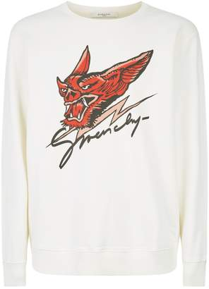 Givenchy Monsters Print Sweatshirt