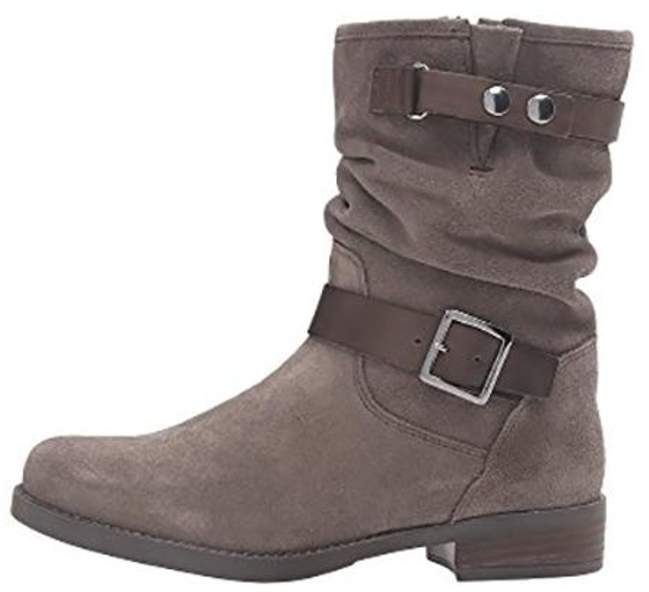 Eric Michael Venice Suede Slouch-Boot