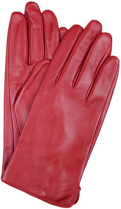 Dents Ladies Classic Leather Gloves with Fine Fleece Lining 77-0003