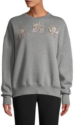 Alexander McQueen Embroidery Sweatshirt